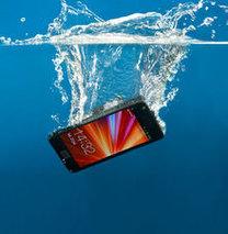Suya düşen akıllı telefonu kurtarmak...