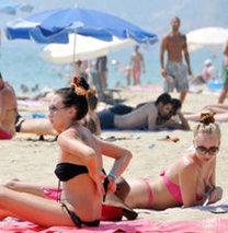 Antalya'ya gelen İsrailli turist sayısı arttı