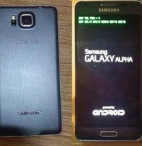 iPhone 6'ya rakip Samsung Alpha!