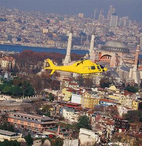 Helikopterle İstanbul turu!