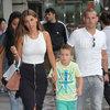 Sneijder Ailesi alışverişte