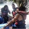 Rafting yaptılar...