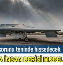 Uçaklara insan derisi modeli!
