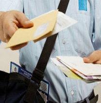 Bak 'özel postacı' geliyor!