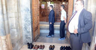 Mevlana Müzesi'nde ayakkabı krizi!
