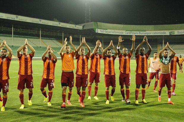 Galatasaray, Süper Lig'de ilk maçında deplasmanda Bursaspor'u 2-0 mağlup etmişti.