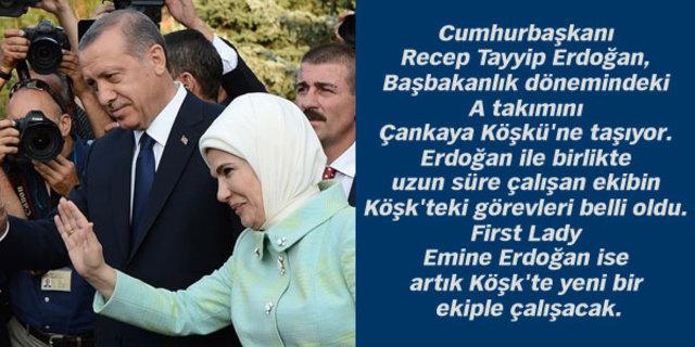 Cumhurbaşkanı Erdoğan'ın A takımı