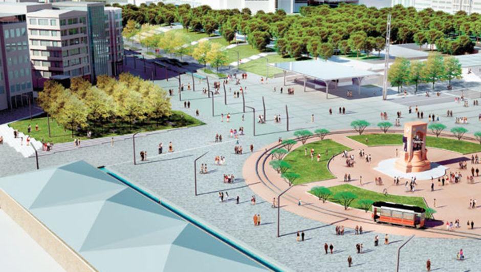 Taksim Meydanı düzenleme projesi İBB