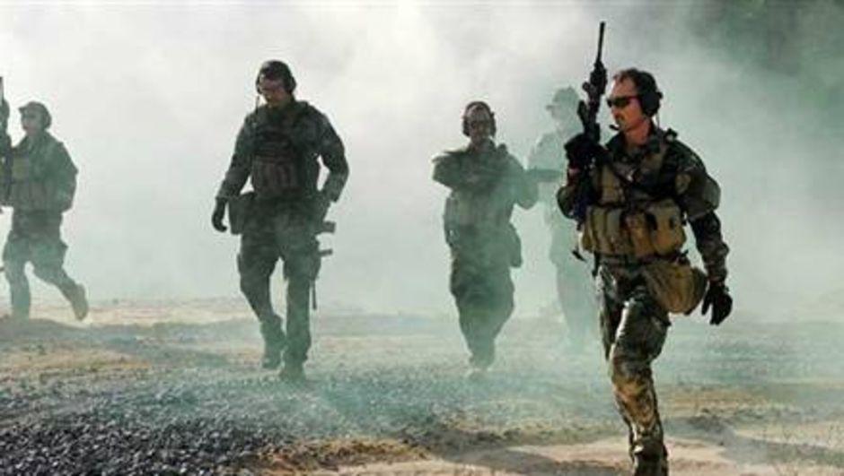 ABD askerleri, Somali'de Eş-Şebab terör örgütüne karşı operasyon düzenliyor.