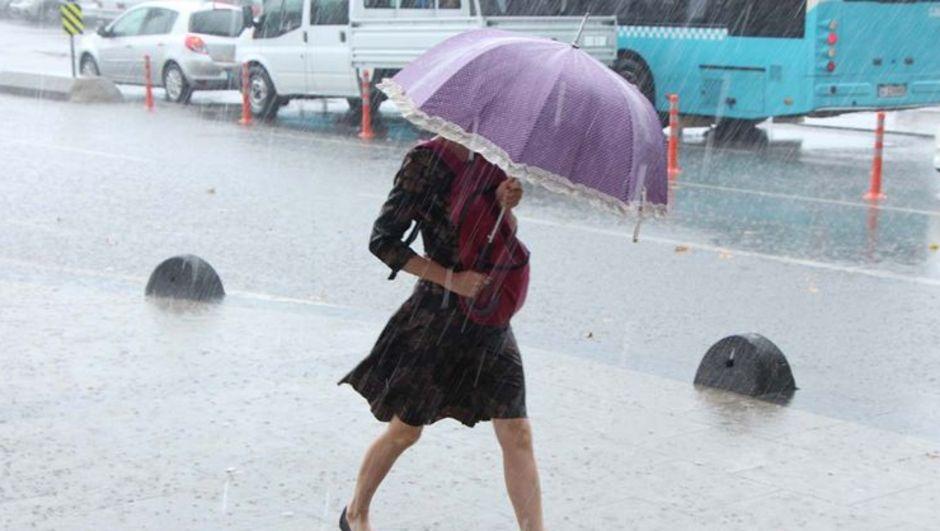 Sağanak yağış Meteoroloji İstanbul