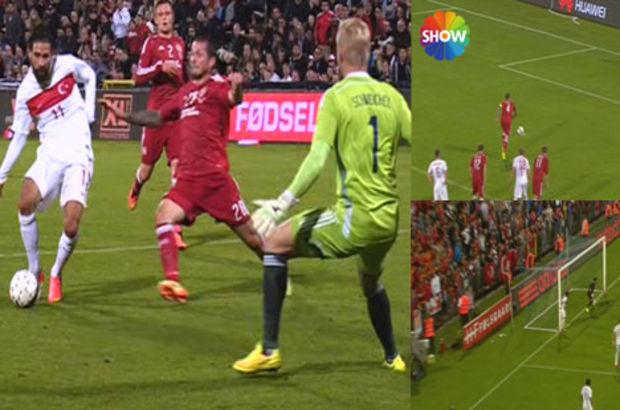 Danimarka-Türkiye maçının golleri ve önemli pozisyonları HABERTURK.COM'da...