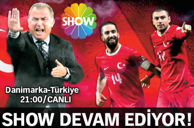 Türkiye-Danimarka hazırlık maçı Show TV'den naklen yayınlanacak