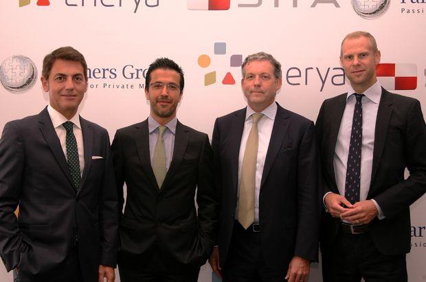Partners Group, Enerya'ya yüzde 30 hisse ile ortak oldu