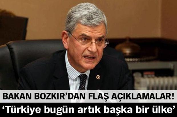 AB Bakanı ve Başmüzakereci Volkan Bozkır, ABD'nin müdahalesi sayesinde Kıbrıs'ta ilerleme kaydedilmeye başlandığını belirtti.