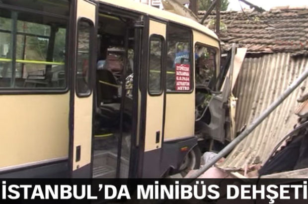 Eyüp yolcu minibüsü