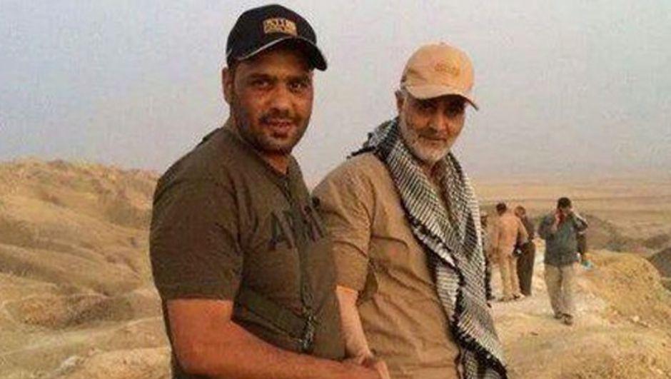 İran'ın korgenerali Irak'ta ortaya çıktı