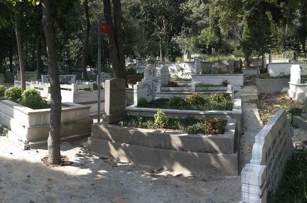 Ünlülerin mezarlığı olarak bilinen Aşiyan Mezarlığı'nda gazete ilanıyla satışa çıkarılan 9 metrekarelik boş mezar yeri için 450 bin TL istendi.Ünlülerin mezarlığı olarak bilinen Aşiyan Mezarlığı'nda gazete ilanıyla satışa çıkarılan 9 metrekarelik boş meza