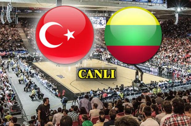 12 Dev Adam çeyrek finalde Litvanya'ya mağlup oldu.