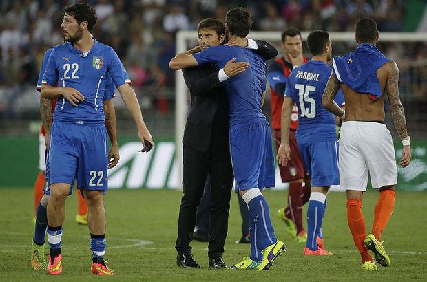 Conte'li İtalya ilk resmi maçından galibiyetle ayrıldı, Conte'li İtalya'dan iyi başlangıç,