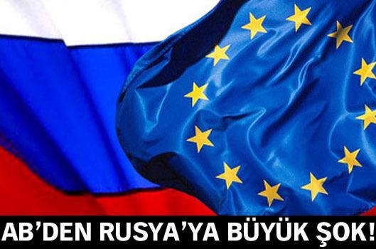 AB'nin yeni Rusya yaptırımları devrede!