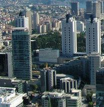 Göğe yükselen İstanbul!