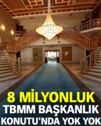 TBMM Başkanlık konutu ilk kez Habertürk'e açıldı!