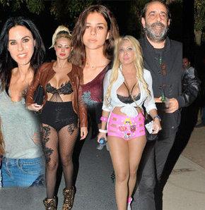 Lady Gaga konserine ünlü akını!