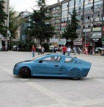İlk yerli üretim elektrikli otomobili!