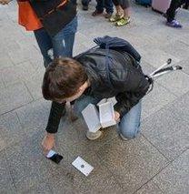 iPhone 6'ya nazar değdi!