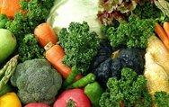 Sağlık deposu Sonbahar sebzeleri