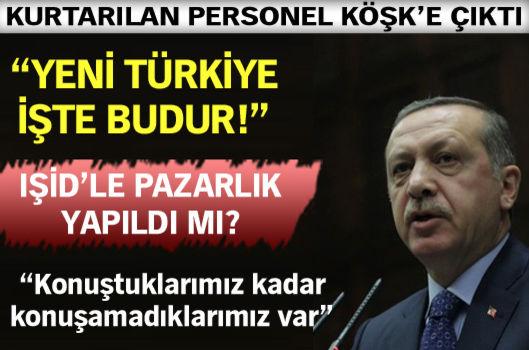 """""""Yeni Türkiye işte budur"""""""