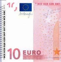Yeni 10 Euro piyasaya sürülüyor!