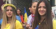 Ukraynalılar İstiklal'i salladı