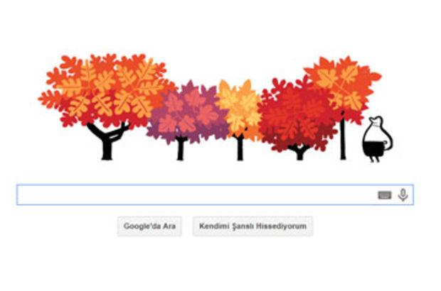 Sonbahar Google'a doodle oldu! Sonbahar ekinoksu nedir?