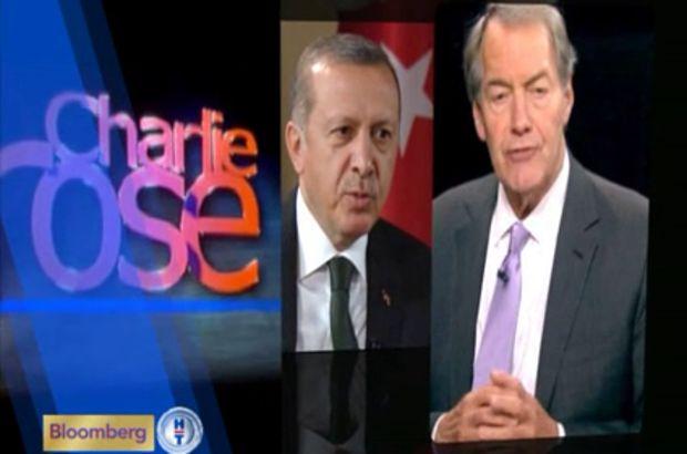 Erdoğan, Charlie Rose Show'da!