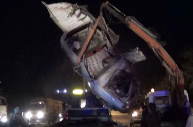 Uşak üniversiteli Azeri gençler kaza yaptı - Trafik kazası