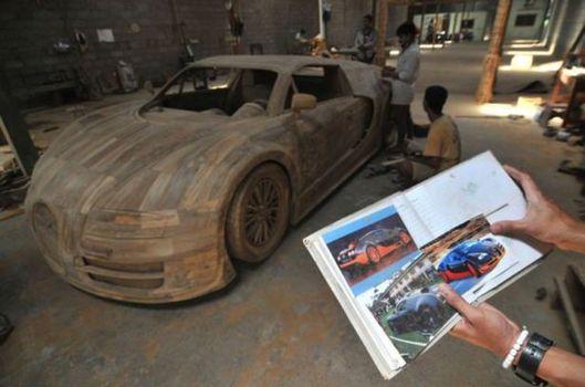 Odundan Bugatti!