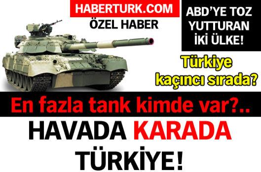 Havada karada Türkiye!