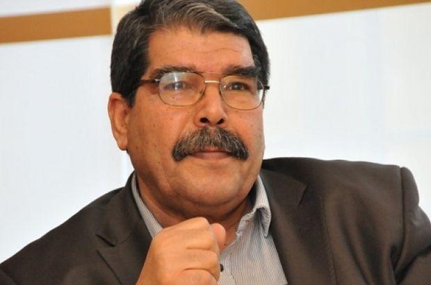 Suriye'nin kuzeyinde IŞİD'e karşı mücadele eden PKK'nın Suriye'deki kolu PYD'nin eşbaşkanı Salih Müslim Türkiye'de.