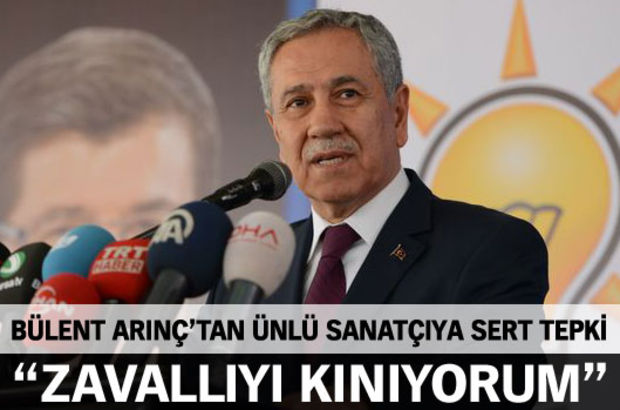 Bülent Arınç'tan Leman Sam'a tepki! - IŞİD