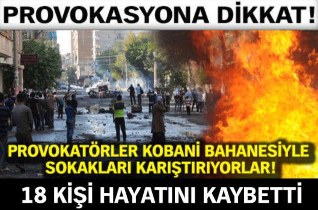 Yurtta Kobani gerginliği! - KOBANİ