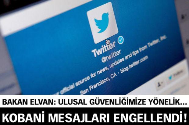Bakan Elvan'dan Twitter açıklaması