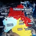 CNN'den küstah Kürdistan haritasına açıklama