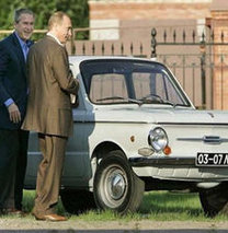 Putin'in otomobilleri!