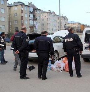 Kağızman'da 3 terörist patlayıcılarla yakalandı