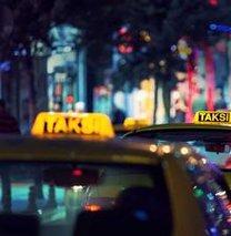 Yolu uzatan taksici yandı!