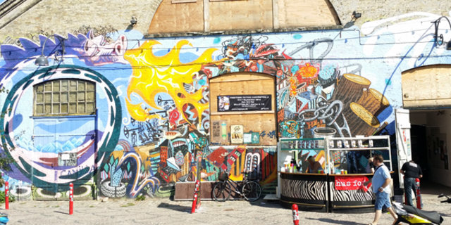 Avrupa'nın ortasında özgür şehir Christiania!