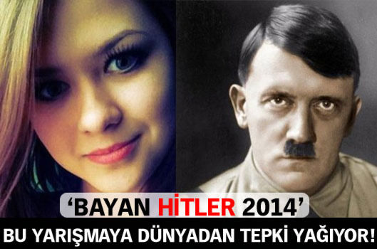 Bayan Hitler 2014 yarışması şoke etti