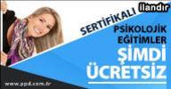 Sertifikalı Psikoloji Dersleri Ücretsiz