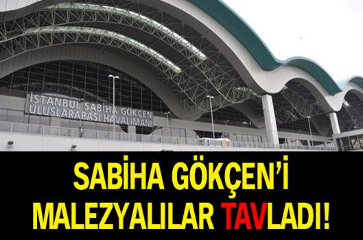 Sabiha Gökçen'i Malezyalılar TAV'ladı